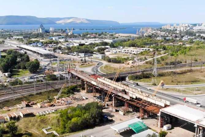 Минимум на год дольше: Развязка на трассе М-5 в районе Жигулевского моря Тольятти