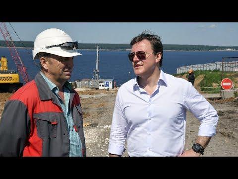 Как продвигается строительство моста Тольятти – Климовка