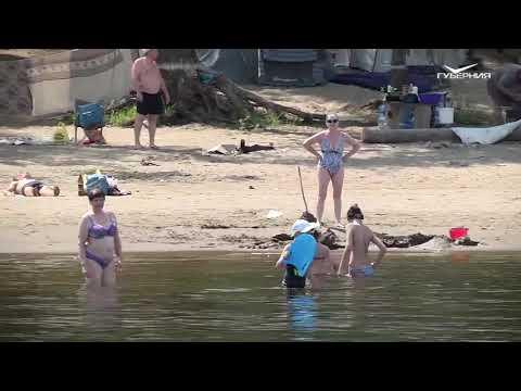 Инспекторы ГИМС проверили закрытый новокуйбышевский пляж