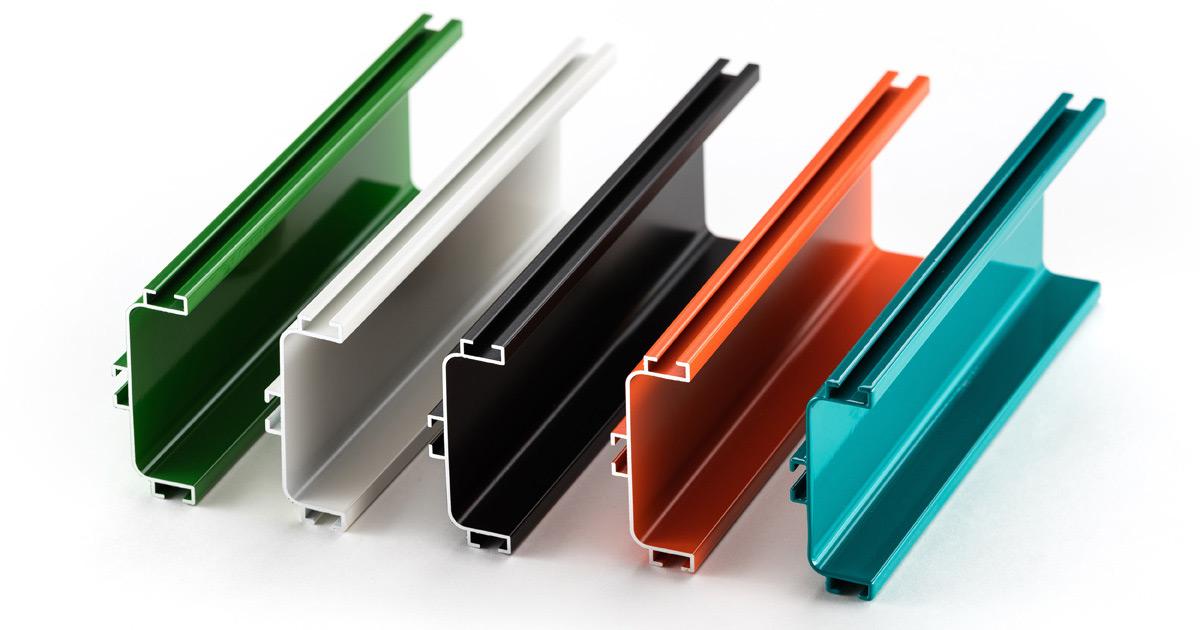 standard aluminum extrusion profiles