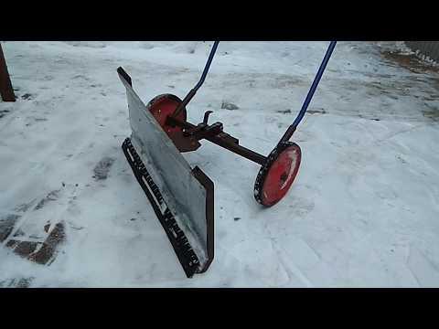 Преимущества ручных снегоуборочных машин