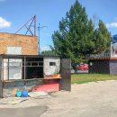 Возгорание экобокса около ТЦ «Русь-на-Волге»