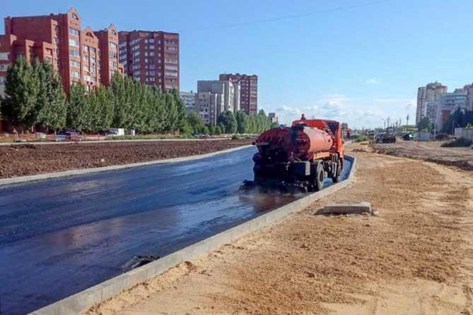 В Тольятти строительство дорожной развязки на улице Офицерской идет по графику