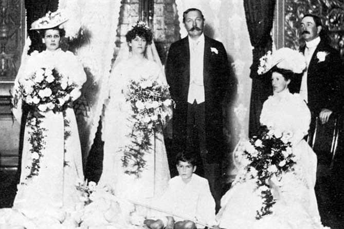 артур конан дойл свадьба