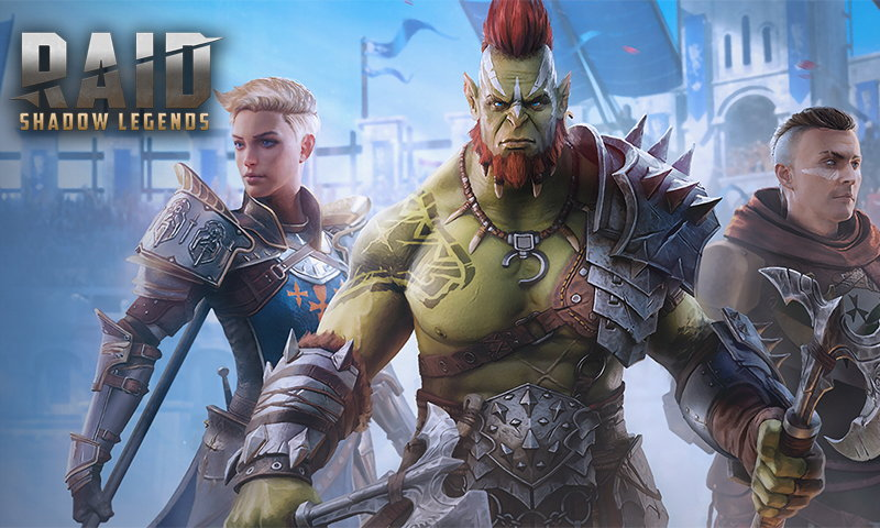 Купить героев для игры RAID: Shadow Legends