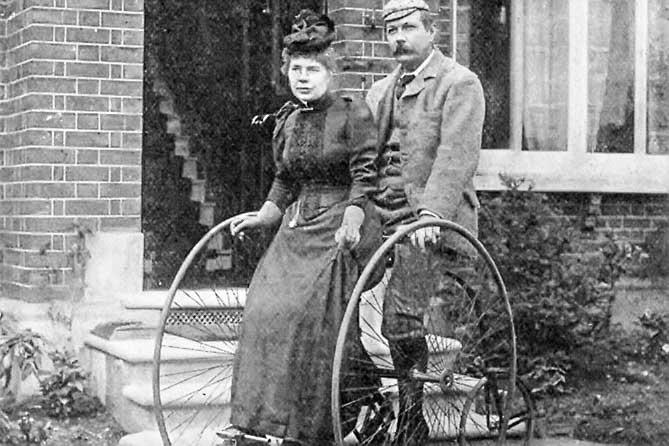 конан дойл с женой