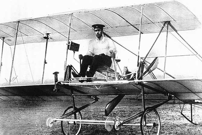 первый самолет сикорский