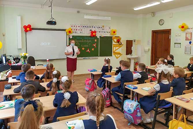 Главный санитарный врач региона Светлана Архипова провела урок для тольяттинских школьников