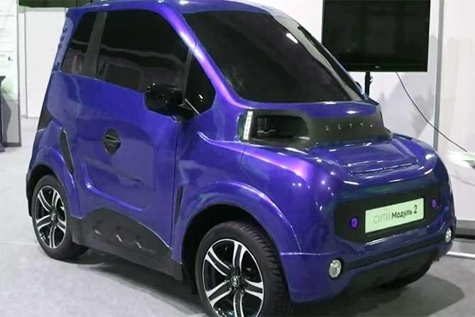 электро автомобиль из тольятти