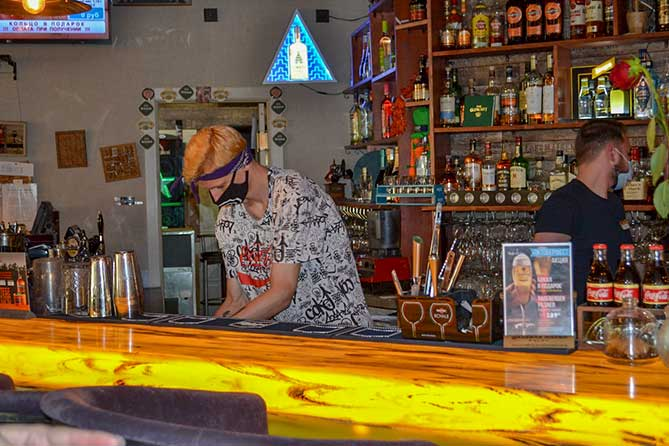 бар в кафе