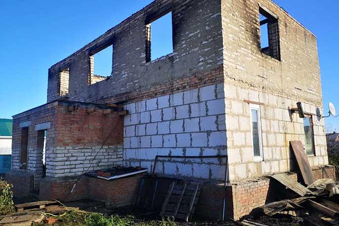 В Тимофеевке сгорел жилой дом