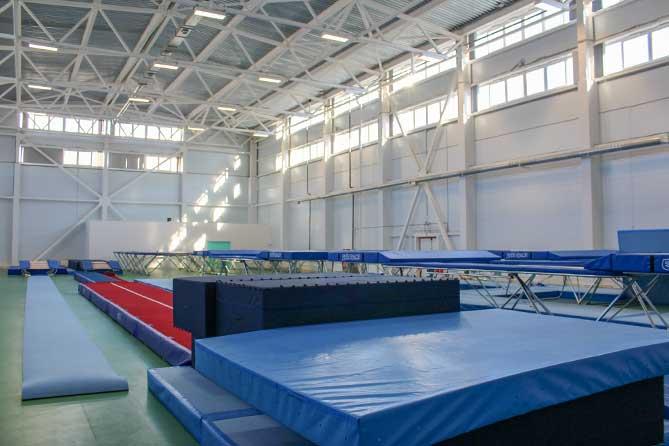 В Тольятти полностью отстроен и оснащен физкультурно-оздоровительный комплекс «Батут»